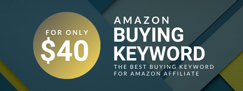 Rank #1 For Amazon BUYING Keywords with low competition!