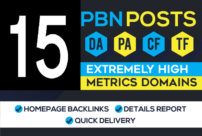 15 Manual High DA Do-Follow PBN Permanent Link