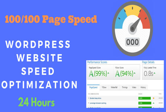 I will do wordpress speed optimization with gt metrix pagespeed