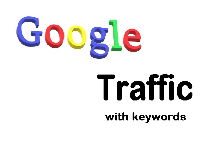 drive High quality GOOGLE Source keywords TRAFFIC with extras with live counter