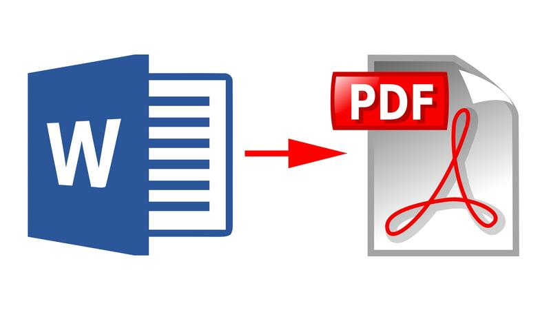 I'll convert PDF to Word,  Word to PDF
