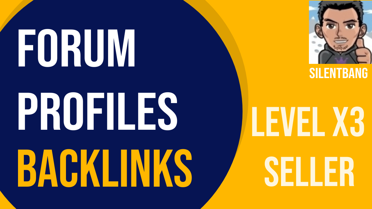 100 Forum Profile Backlinks Bookmarks Package For Ranking Website Traffic On Google 1st Page