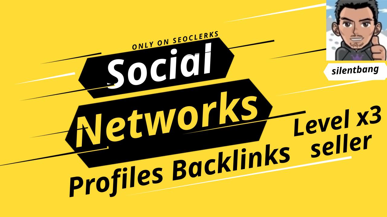 Google First Page 120 Social Profile Safe Backlinks Bookmark For Ranking Website Traffic
