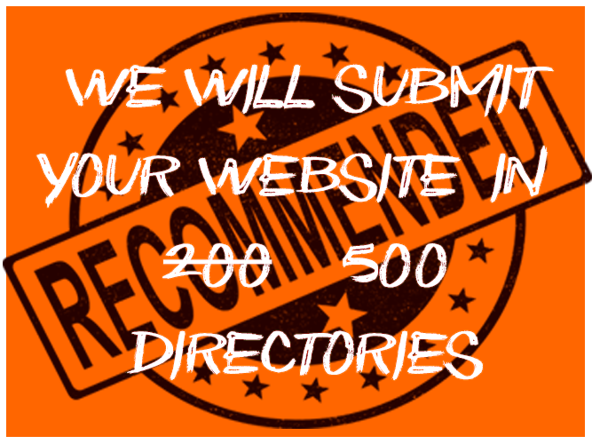 I will submit your website in to 500 directories / Blog