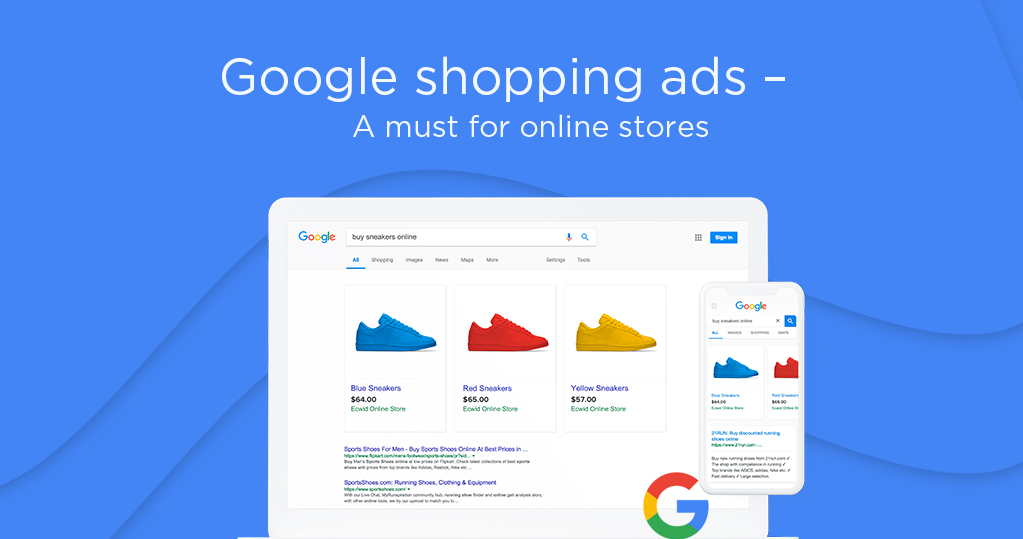 Create shopping ads and a feed for google merchant center