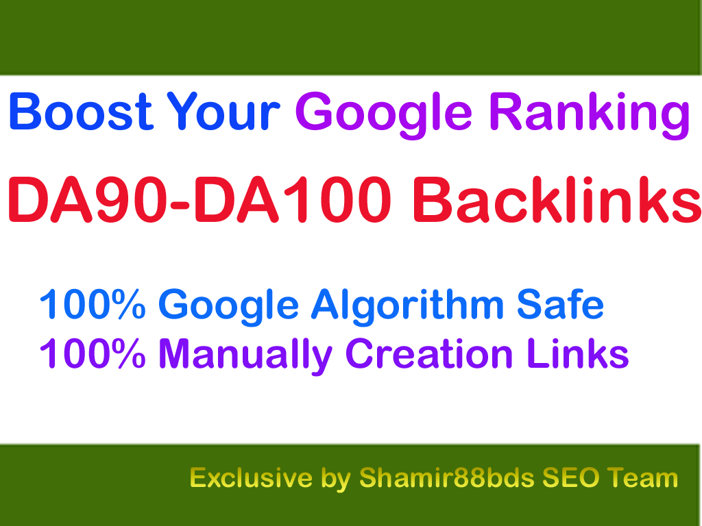 Premium 15 DA90-DA100 Backlinks to Boost Your Google Ranking