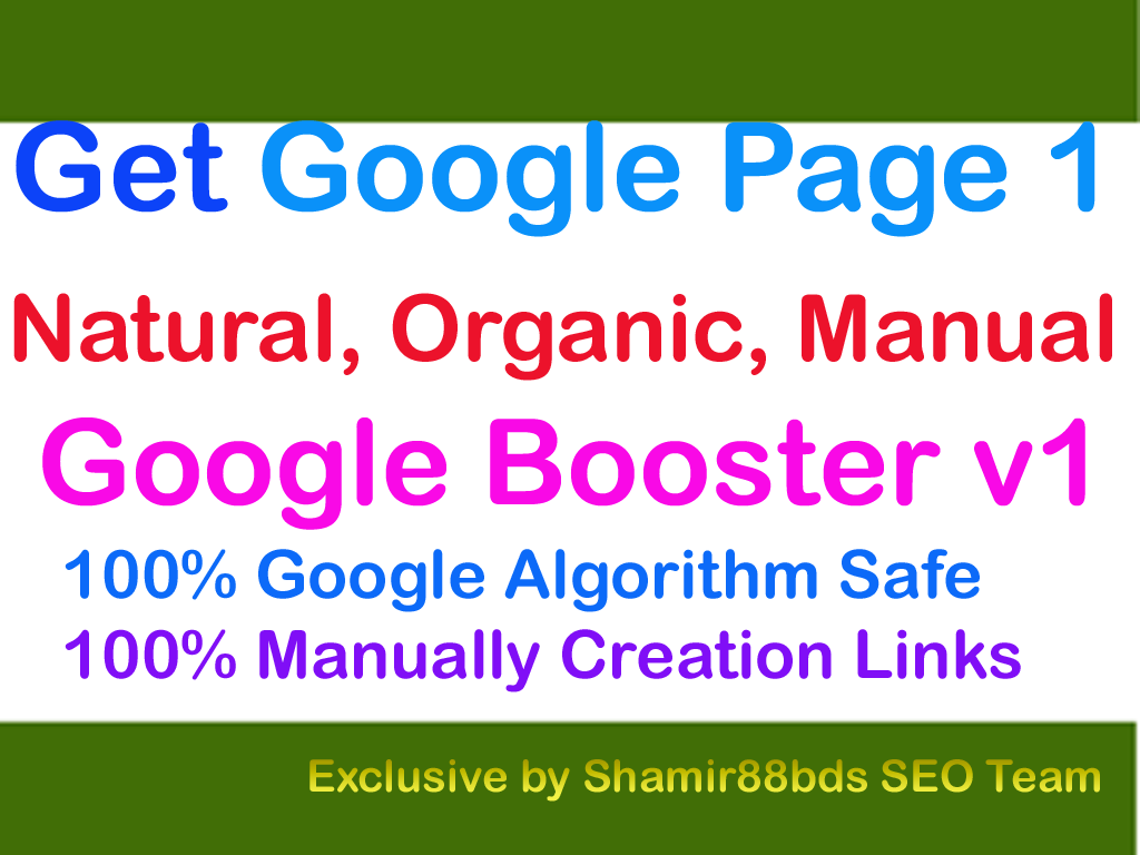 Google Booster v1 - 20,130 Link Pyramid to Google Page 1 - Order 3,  to get free 1