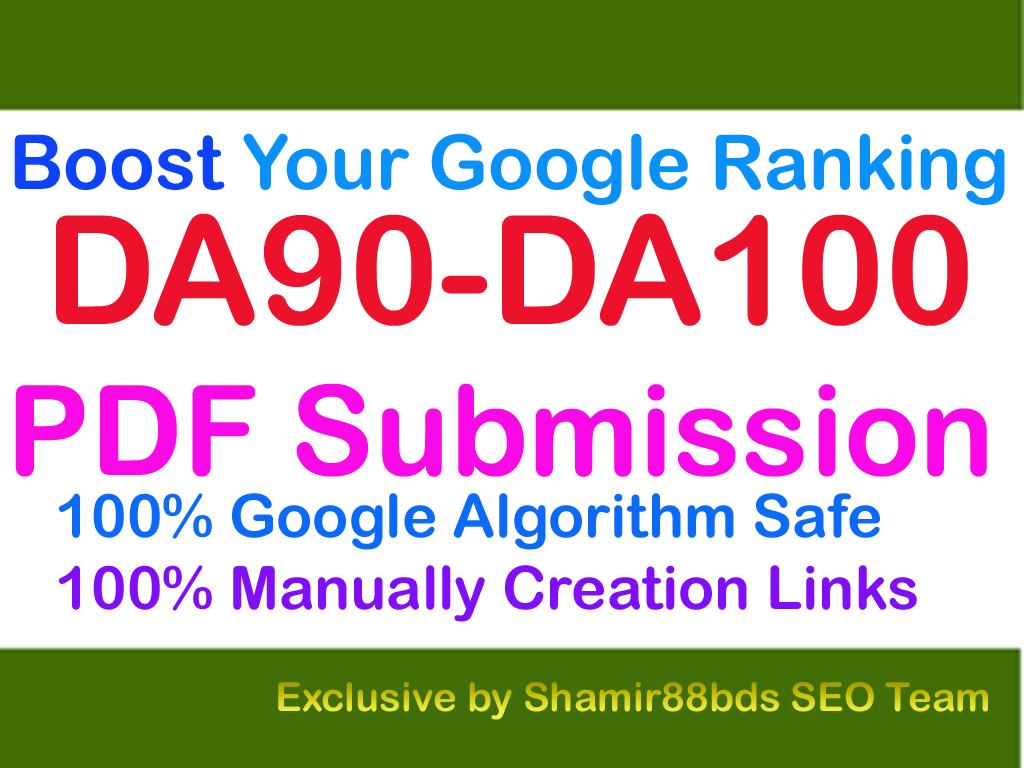 Authentic 6 DA90-DA100 PDF Backlinks to Boost Your Google Ranking