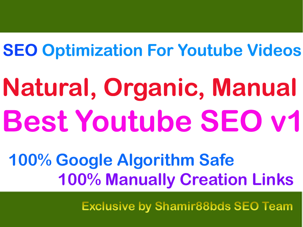 Best Youtube SEO as well as Internet Site Video Clip Search Engine Optimization