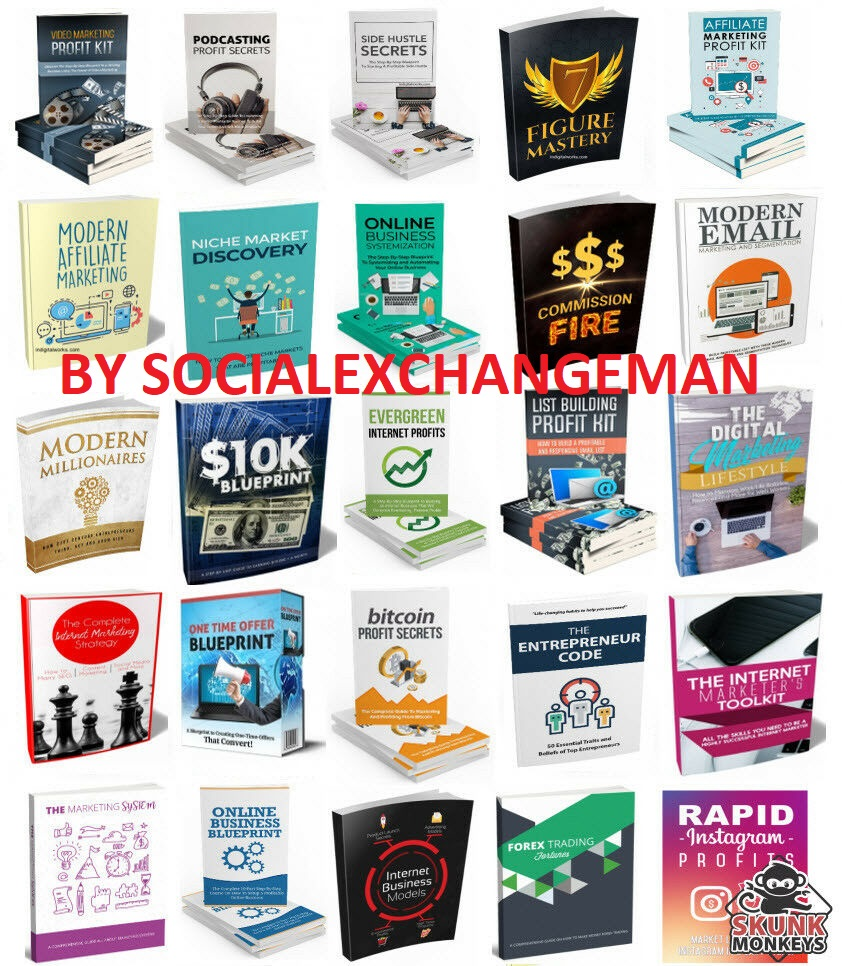 Make Money with Affiliate Marketing eBooks With Master Resell Rights 100+