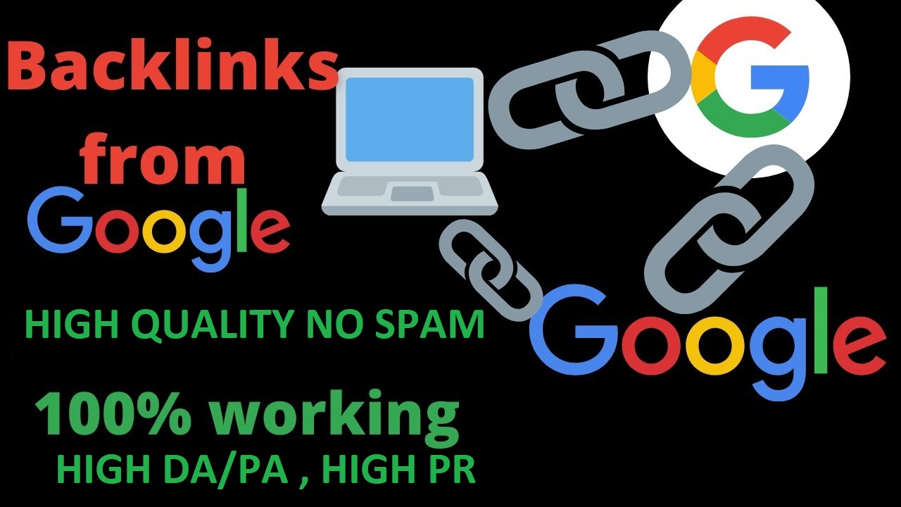 High quality Google backlinks redirects to your website ( 600 backlinks only google ) 80% off