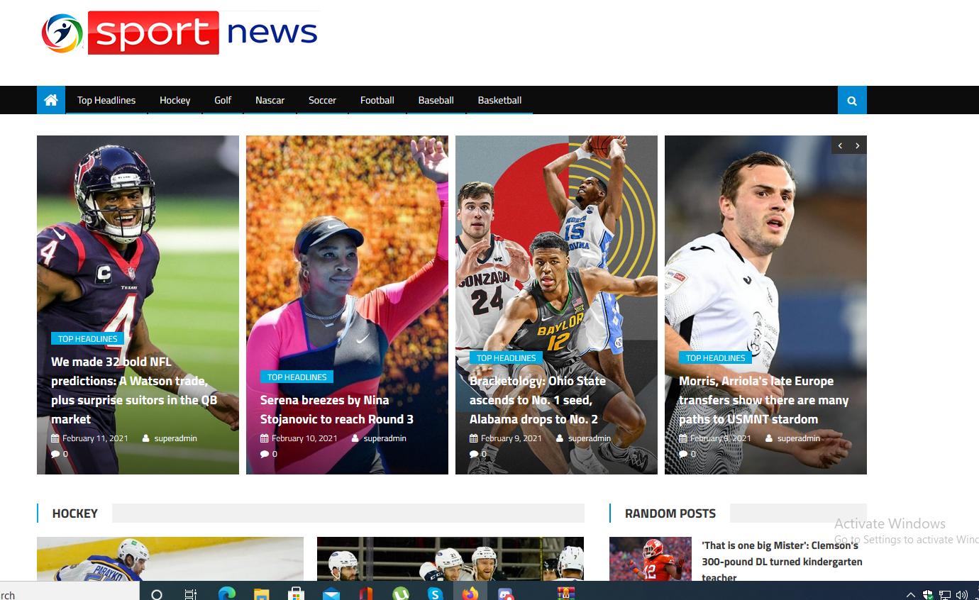 I will create a superb auto blog sport website adsense ready