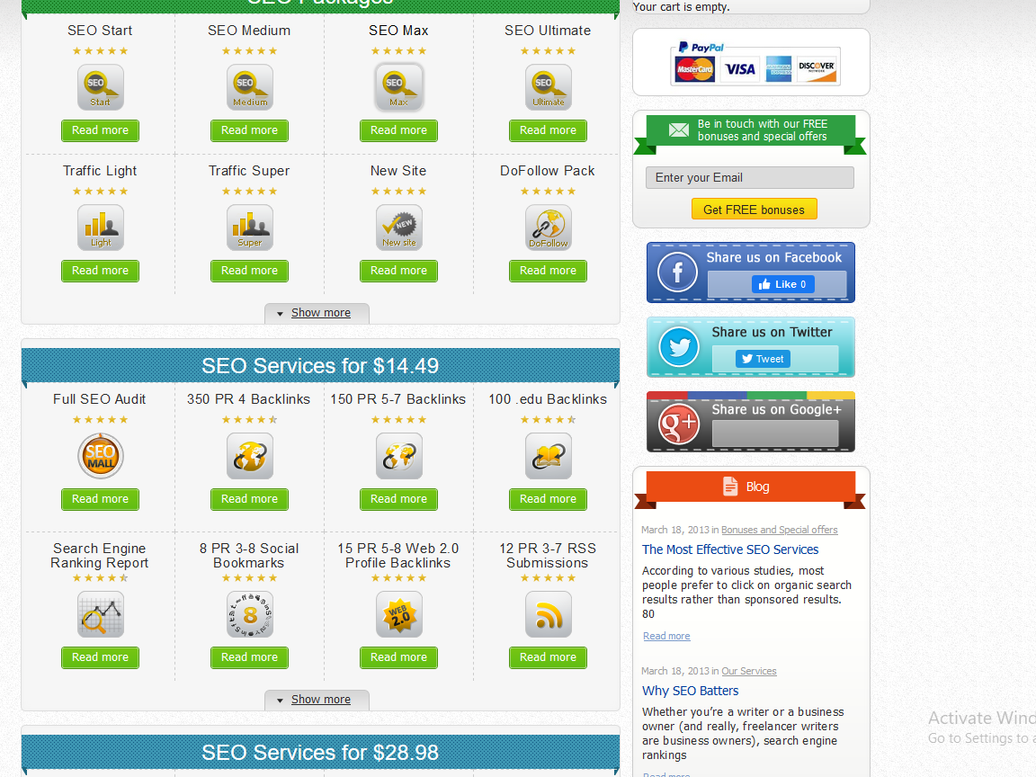 SEO Reseller Turnkey Website - 40+ Services included 100 Automated