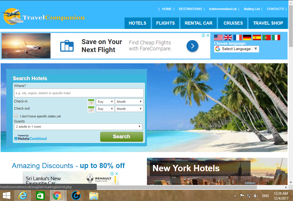 Best Outstanding Hotel Travel Affiliate Website