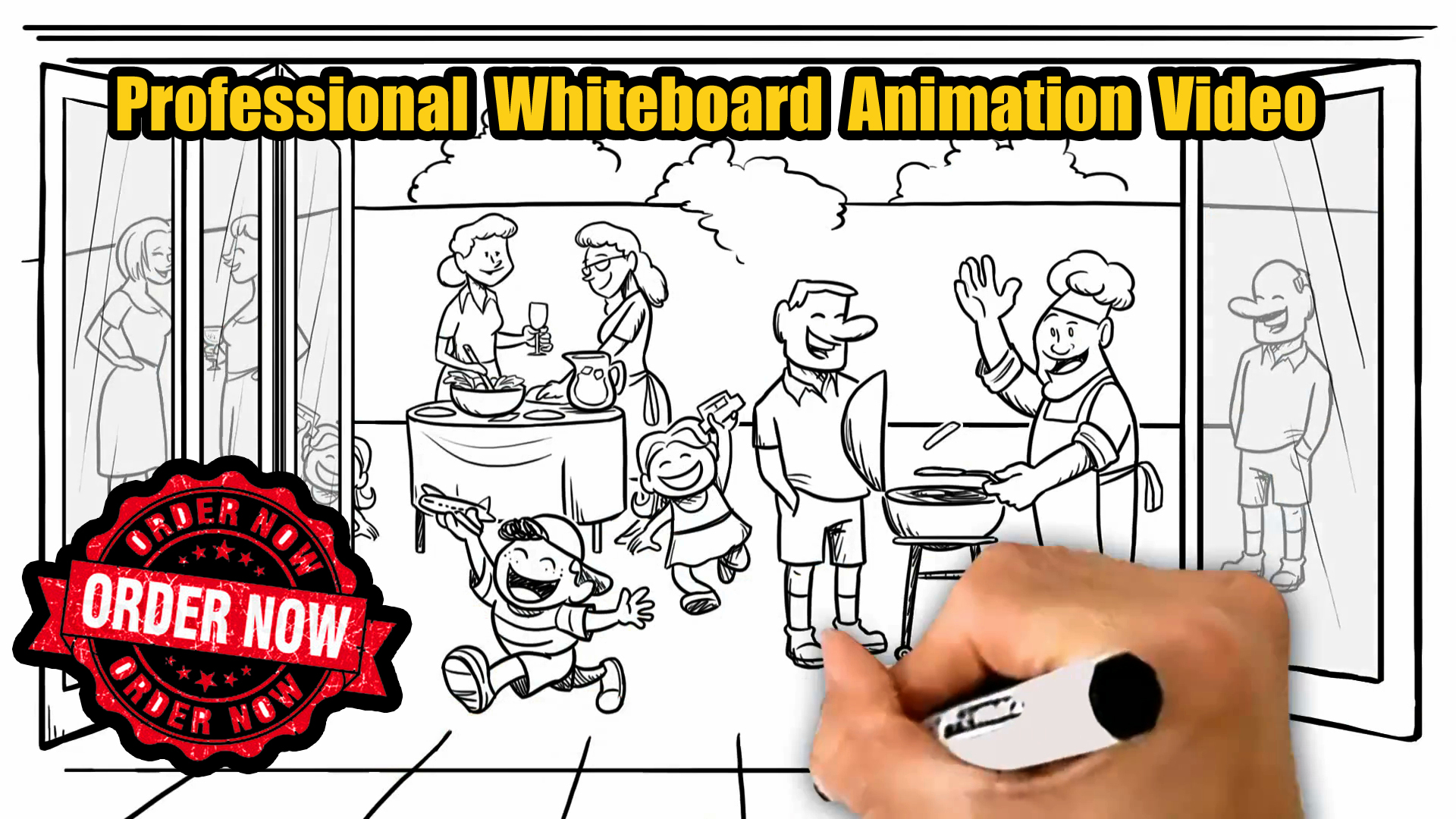 Get a Stunning and Eye-Catching Whiteboard Animation Video for your Business