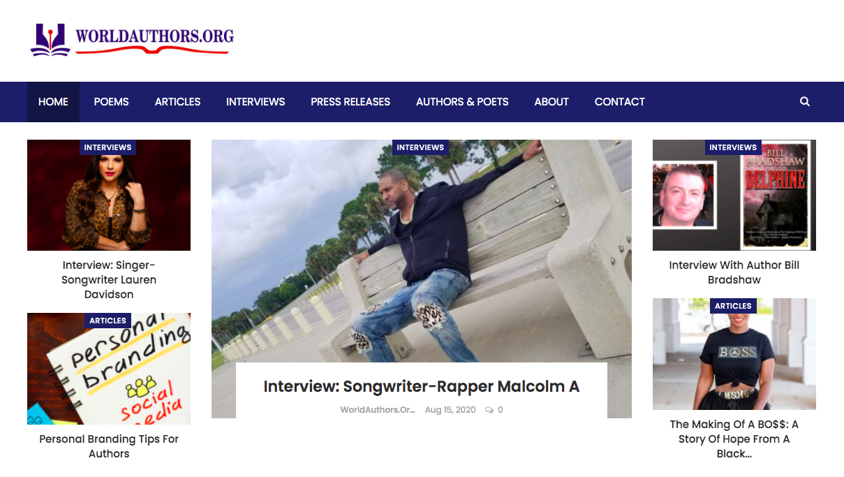 Songwriter Interview Along With Instagram Shoutout