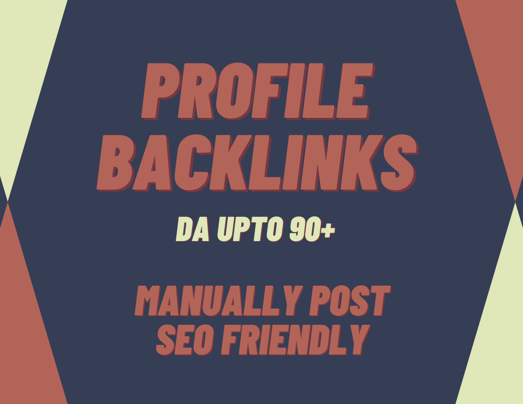 You will get profile backlinks on high DA sites