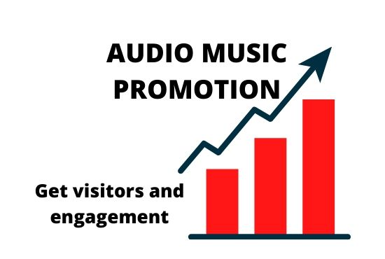 Get Audio Music Promotion and Organic traffic on your track