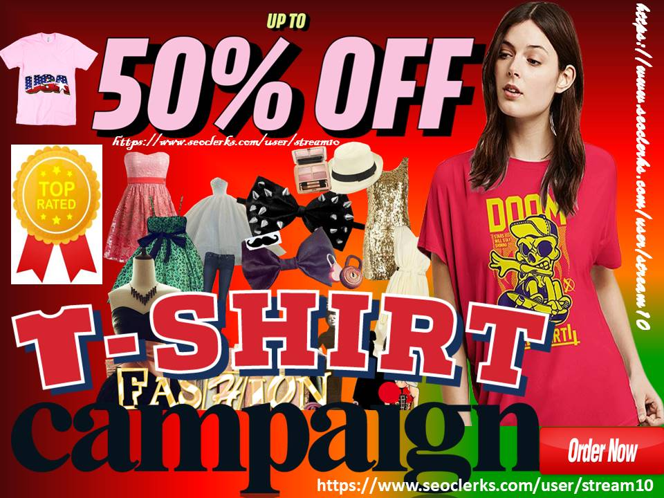 Advertise T Shirt Store T Shirt Clothing Brand Female Fashion Blog Gym Yoga Apparel Design Traffic For 5 Seoclerks