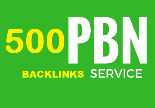 Super Mixed 500+ Manually PBN backlinks Link Building High PR PA DA Fast Rank up