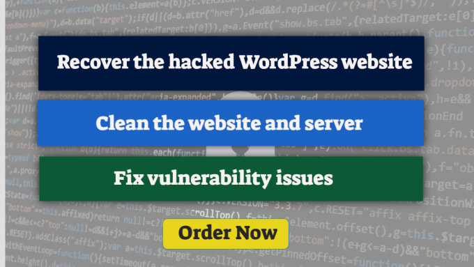 I will clean malware and fix security issues on wordpress sites