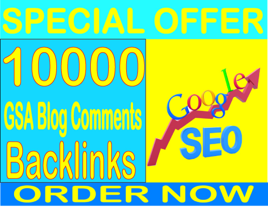Get 10000 GSA SER Blog Comments Backlinks Boost your alexa