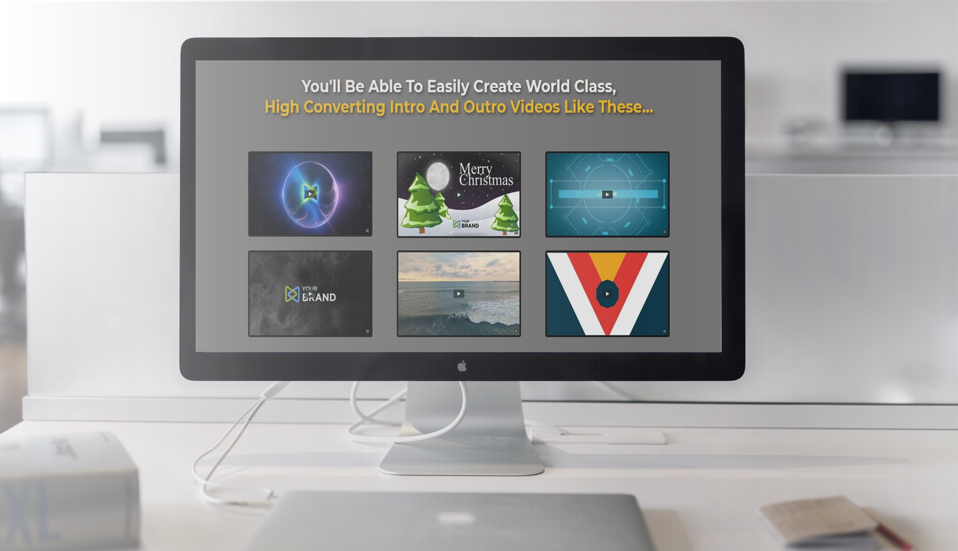 Create Captivating Intro and Outro Videos in a Few Clicks