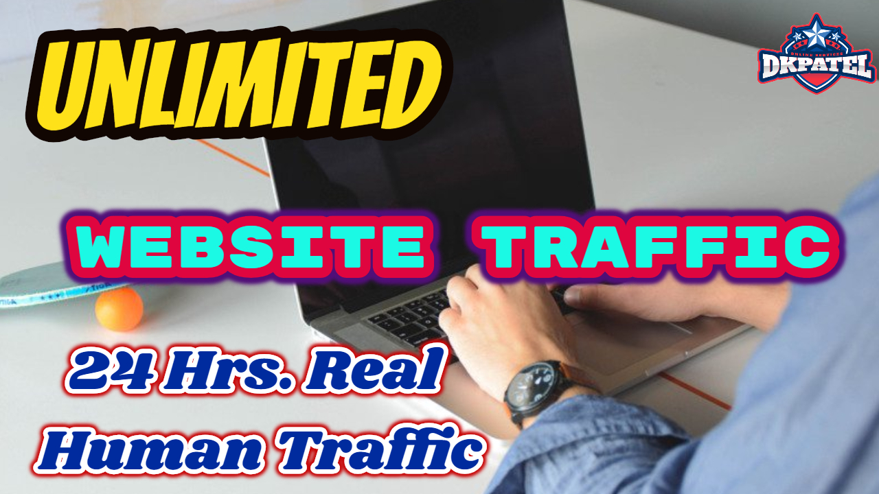 UNLIMITED HUMAN TRAFFIC site for 30 days