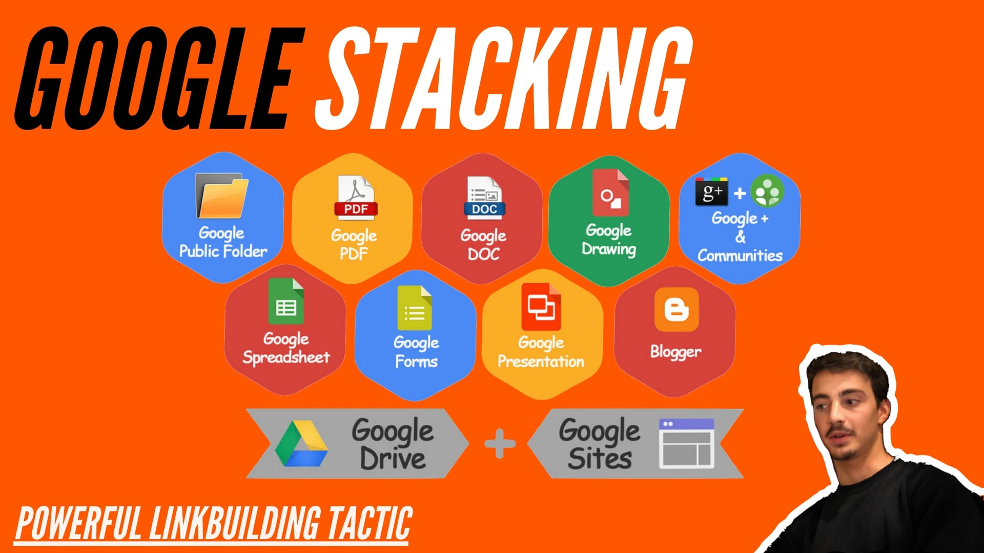 Google Property Stacking - Powerful Linkbuilding Tactic
