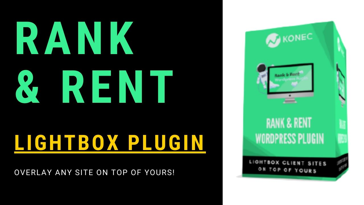Konec Rank and Rent Wordpress Plugin - Overlay/Lightbox any website on top of yours