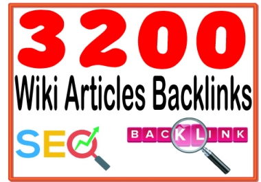Provide 3200 High Quality Wiki articles from PR6 to PR10 websites