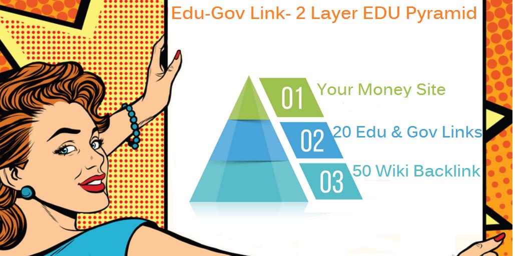 Edu & Gov Link Booster - 2 Tiered EDU & GOV Link Pyramid