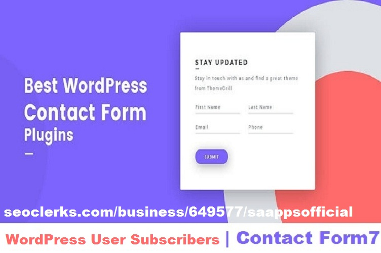 Integrate a contact form in WordPress