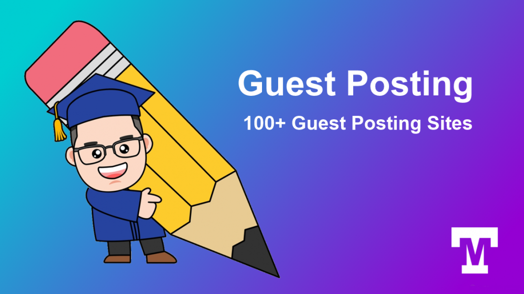 I will do 100 unique high quality guest posts Backlinks