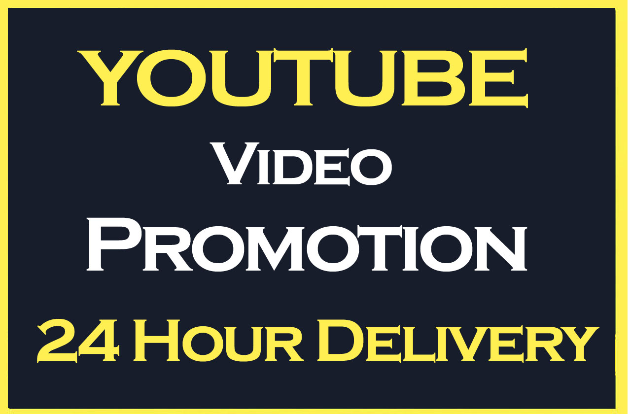Cheap and High Quality YouTube video Promotion and Marketing in 12 Hours