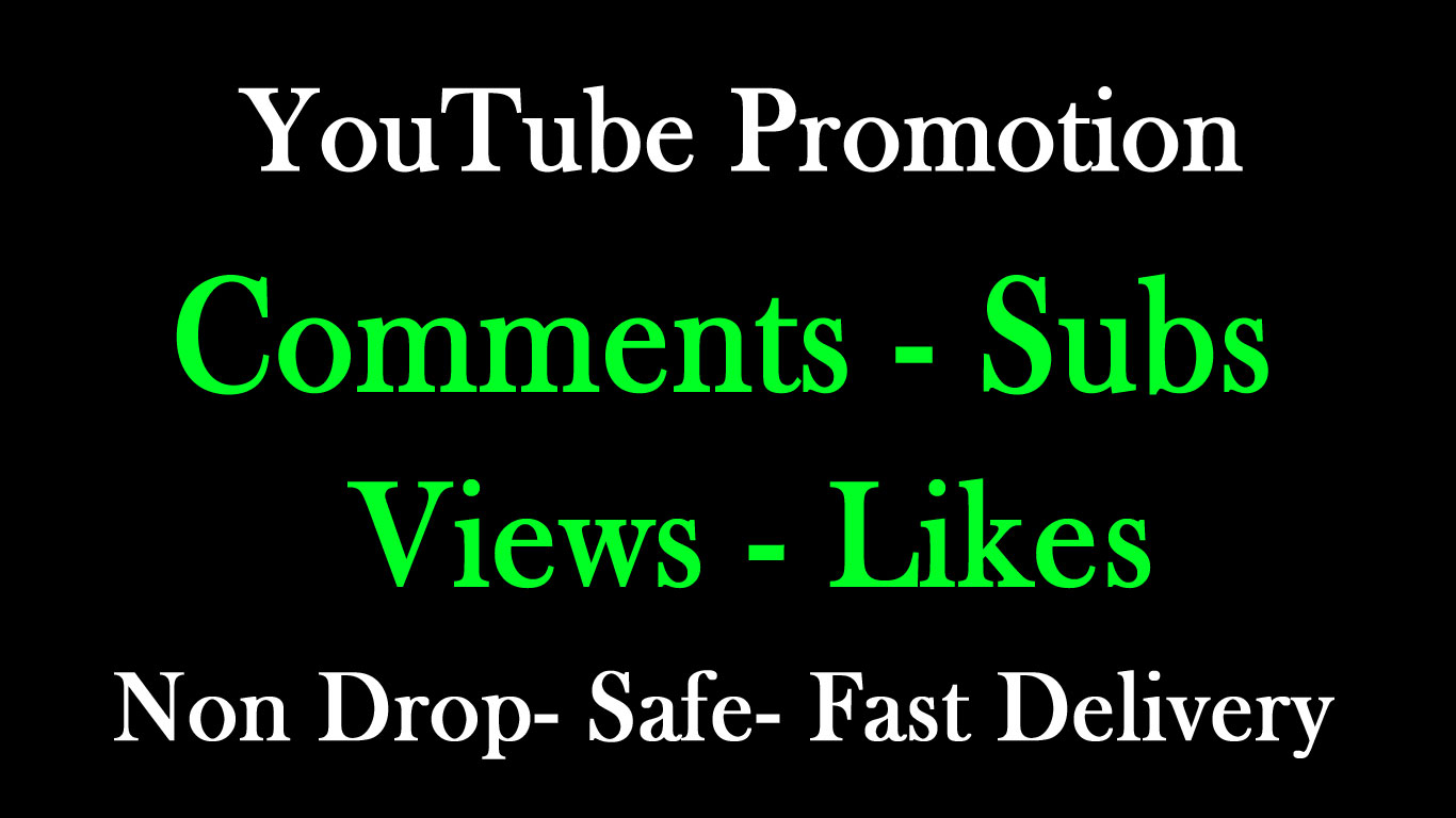 Organic All package Real YouTube promotion