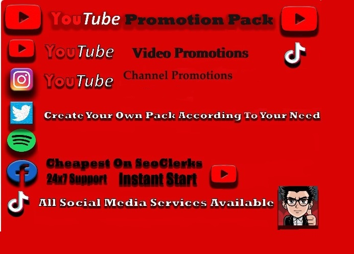 Real YouTube Thumbs-Up Promotion (PROMOTIONAL OFFER)