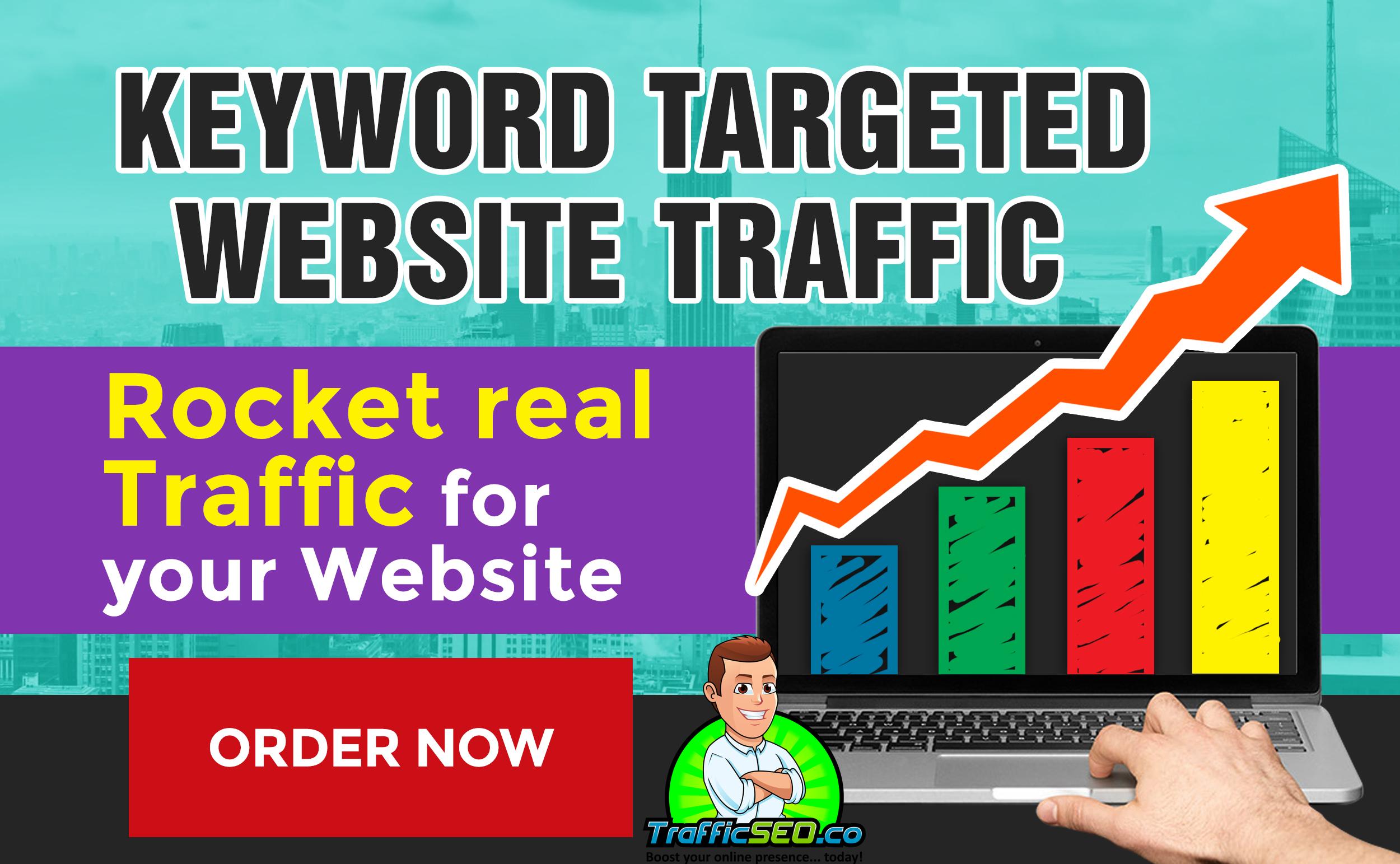 10K Keyword Targeted Traffic from Google