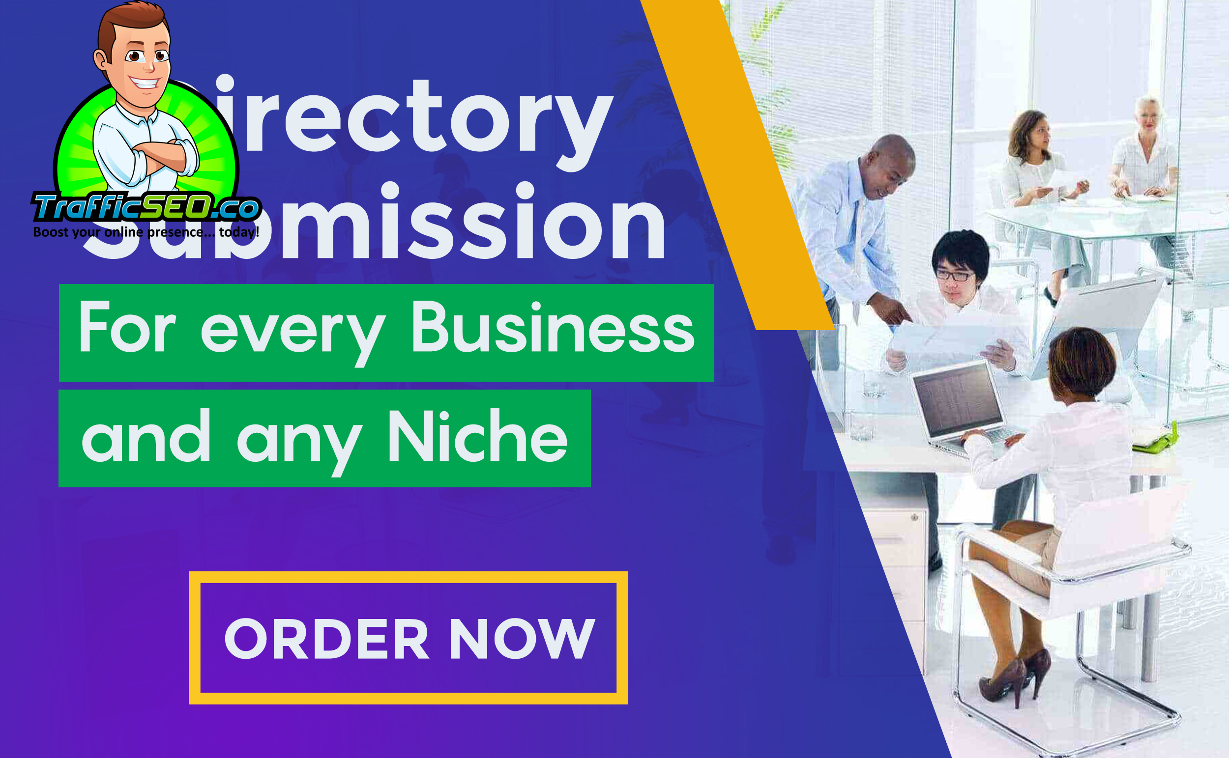 Submit your website to 30 HQ Directories