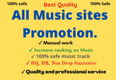 All Music Sites Promotion Service