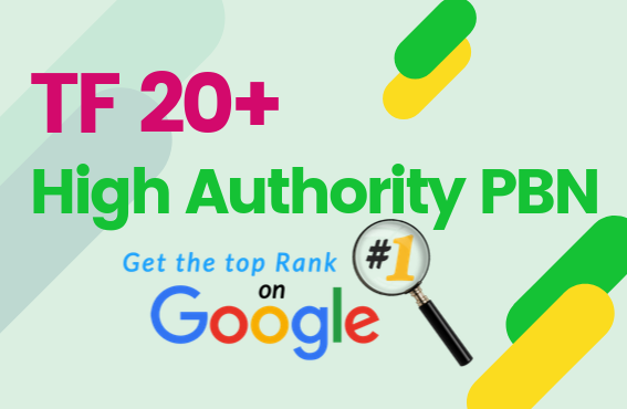 Build 10 Permanent PBN TF 20+ High Authority Homepage Dofollow Backlinks