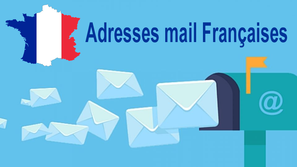 I will give you 45,000 French email addresses in 2019