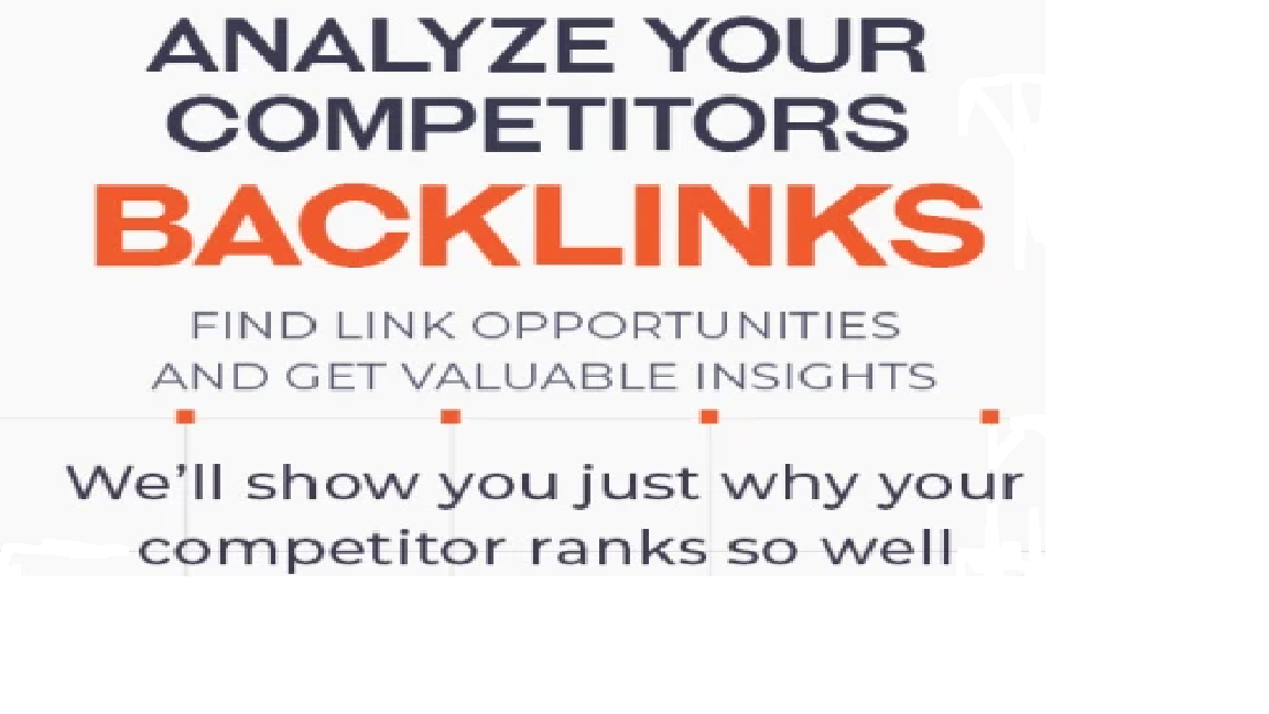 audit your competitors backlinks.