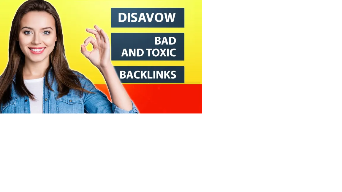 do bad backlinks SEO report and disavow toxic links.