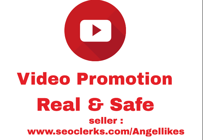Get Promotion OF High Quality with retention YouTube Video Promotion