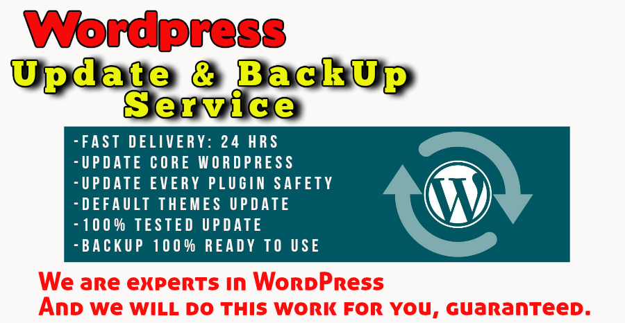 WordPress - Manually Update and BackUp to newest version safe