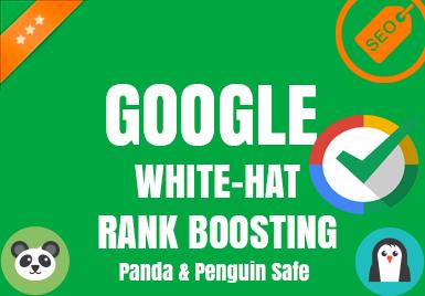 GOOGLE WHITEHAT - Rank Boosting Method v4.0 April 2020