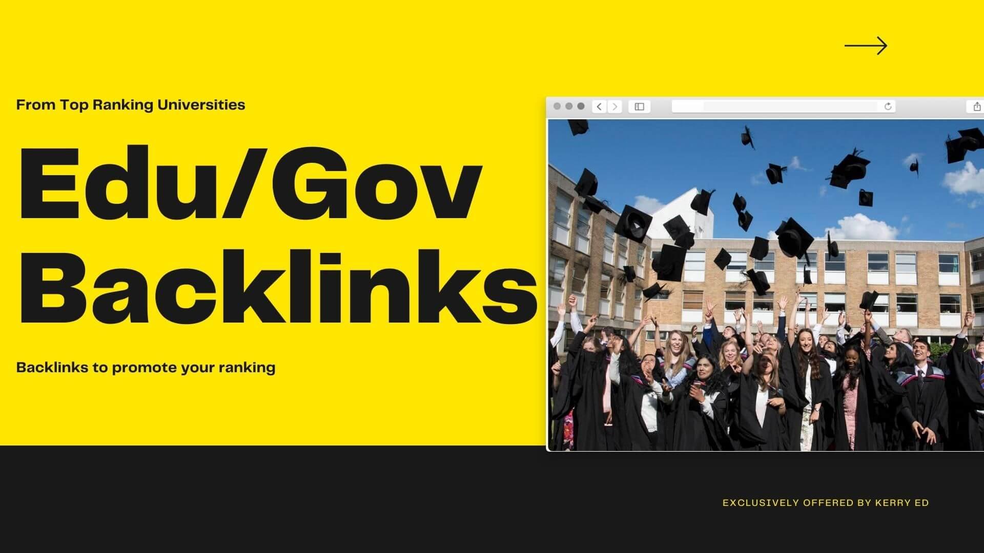 23 Edu/Gov High Quality Backlinks DA100 to DA50+ websites