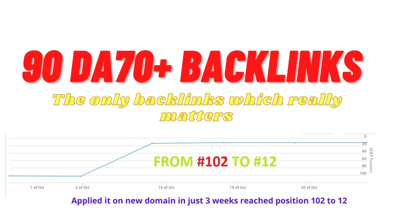90 PR9 Backlinks All DA70+ included DA80,  DA90 Backlinks to increase your page and domain authority