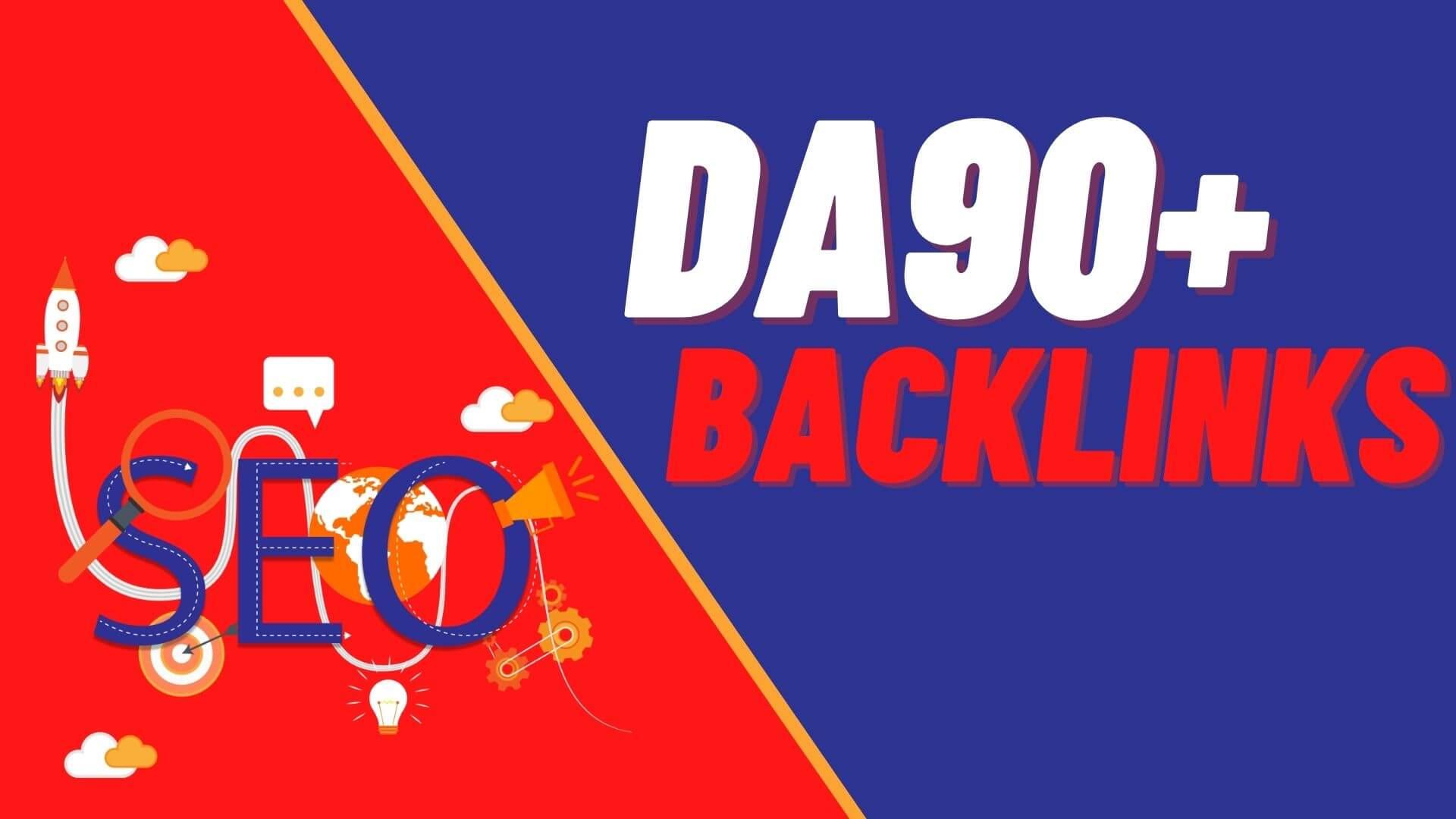 Verified 20 DA90-100 High PR Do-follow Backlinks to Rank higher in Google